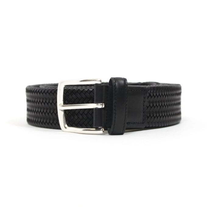 Far Afield Hugo Belt a Black Up-Cycled Fabric