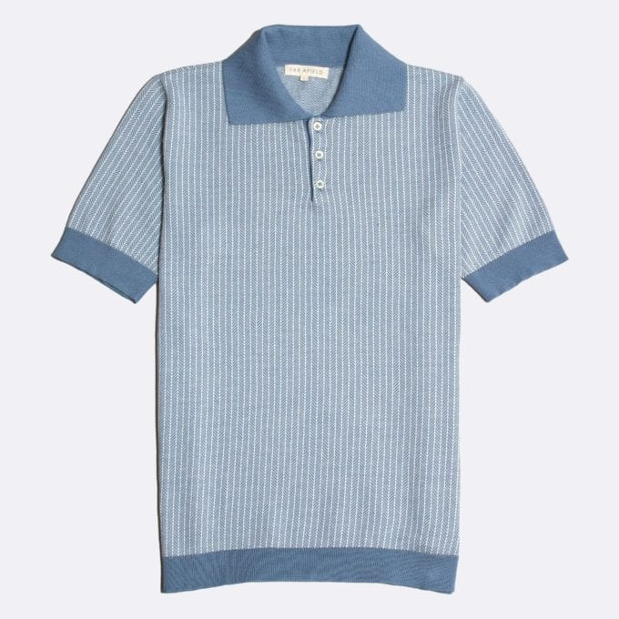 Far Afield Blakey Short Sleeve Polo