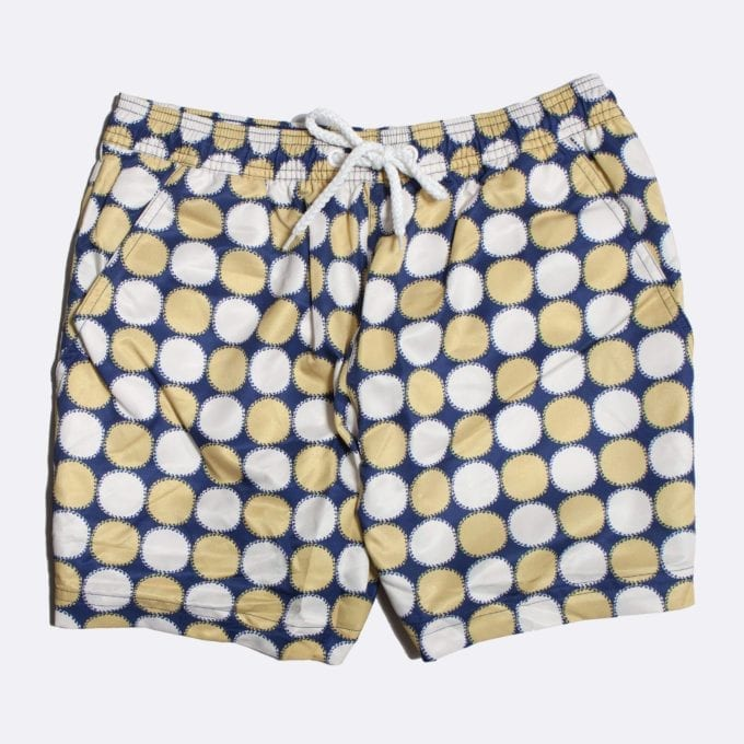 Far Afield Blazing Print Swim Shorts