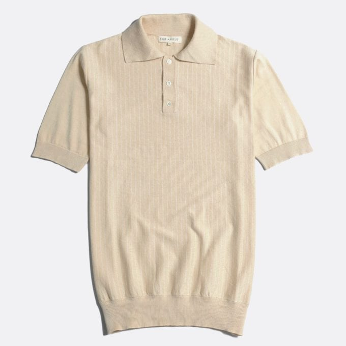 Far Afield Benny Short Sleeve Polo