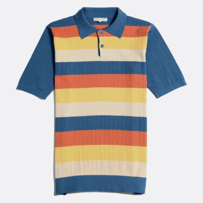 Far Afield Leroy Short Sleeve Polo
