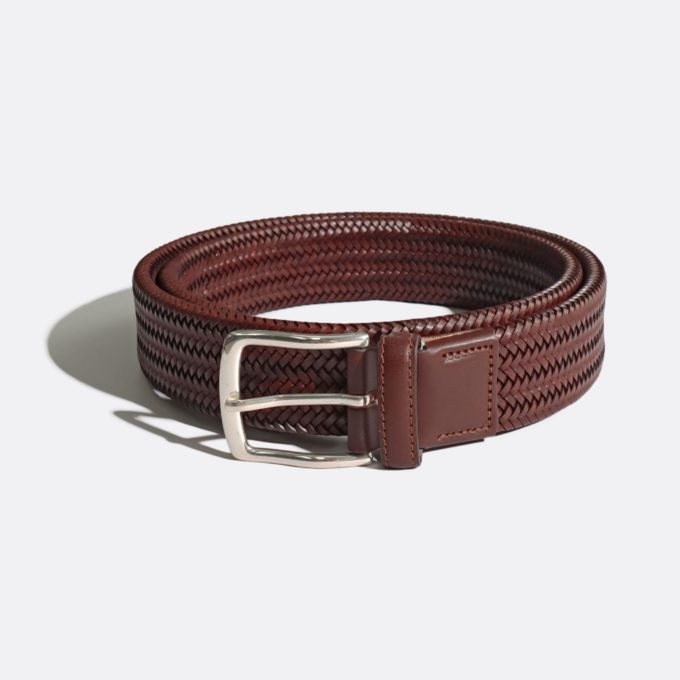 Far Afield Jeremy Belt a Cotton Off-White Classic Tailored Fabric