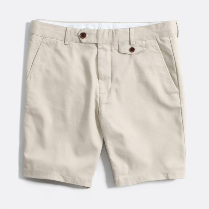Far Afield Tricker Shorts a Pumice Stone Organic Cotton Twill FabricSmart Casual